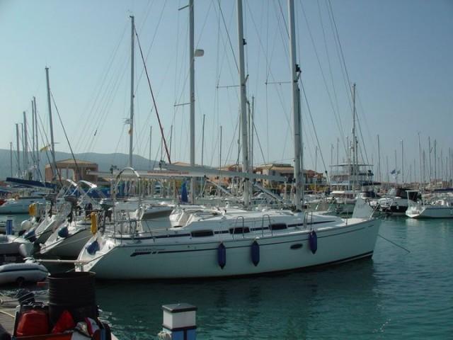 Unsere MERLIN in der Marina Lefkas